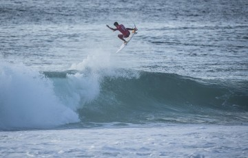 Filipe Toledo (BRA)  Placed 1st in Heat 2 of Round Four at Quiksilver Pro France 16