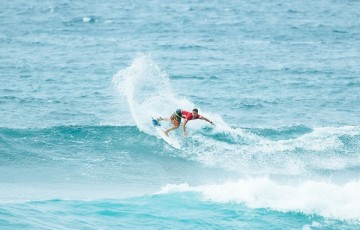 Deivid Silva during his Round Two heat.