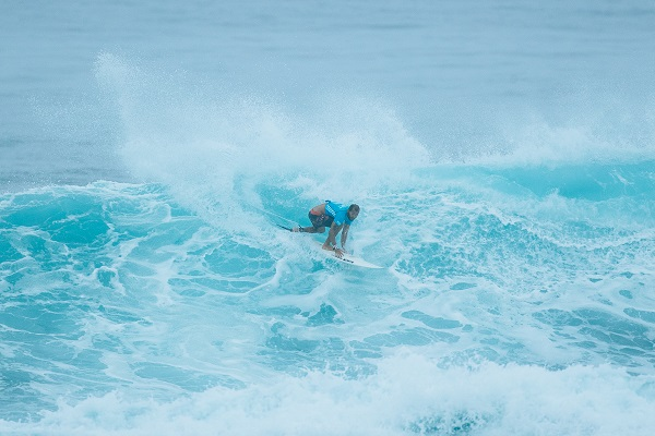 Jadson Andre during his Round Four heat.