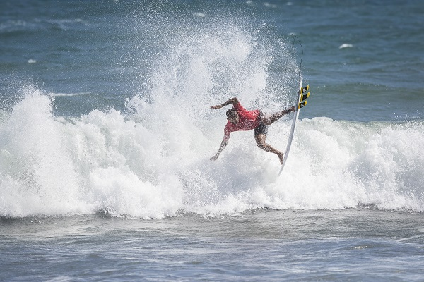Jadson Andre (BRA) during Round Three of the Martinique Surf Pro